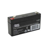 Interstate Batteries Power Patrol Lead Acid Battery, 6V 1.3Ah