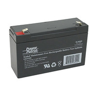 Interstate Batteries Power Patrol Lead Acid Battery, 6V 12.0Ah