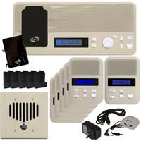 IST I2000 Music & Intercom Standard 5-Room Kit, Almond