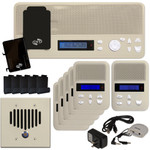 IST I2000 Music & Intercom Standard 5-Room Kit, Almond