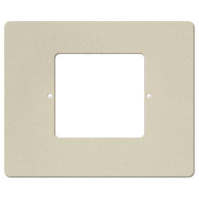 IST RETRO Intercom Room & Patio Station Horizontal Plastic Cover Plate, Almond