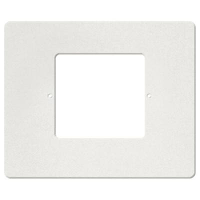 IST RETRO Intercom Room & Patio Station Horizontal Plastic Cover Plate, White