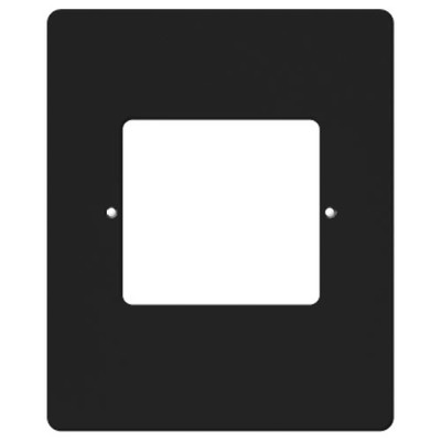 IST RETRO Intercom Room & Patio Station Vertical Plastic Cover Plate, Black