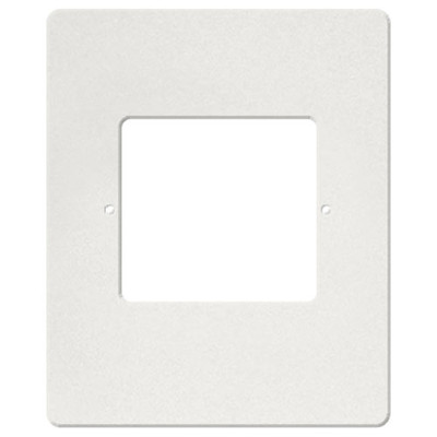 IST RETRO Intercom Room & Patio Station Vertical Plastic Cover Plate, White