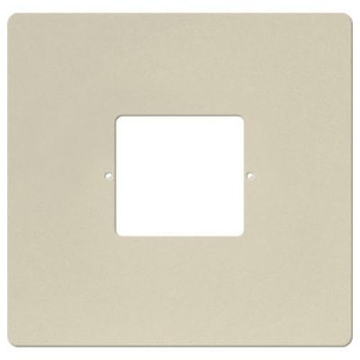 IST RETRO Intercom Room & Patio Station Large Plastic Cover Plate, Almond