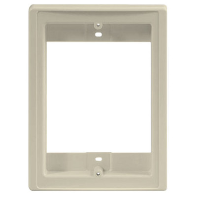 IST RETRO Intercom Door Station Retrofit Mounting Frame, Almond