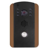 IST RETRO MyDoor Wireless IP Video Doorbell, Rose/Gold Black