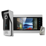 IST V500 7 In. Monitor & Smartphone Video Doorbell Kit