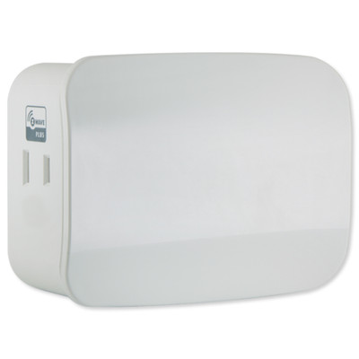 GE Z-Wave Plus Plug-In Smart Dimmer Module, Dual Outlet (Gen5)