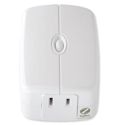 GE Zigbee Plug-In Smart Dimmer Module, Dual Outlet
