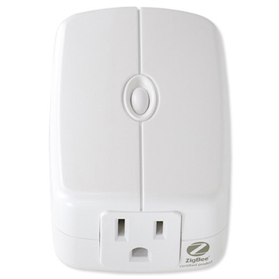 GE Zigbee Plug-In Smart Switch Module, Dual Outlet