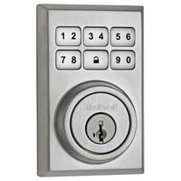 Kwikset SmartCode 910 Zigbee Contemporary Style Deadbolt with Home Connect, Satin Chrome