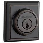 Kwikset Signature Series 910 Z-Wave Contemporary Deadbolt, Venetian Bronze
