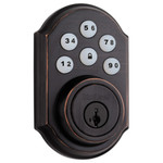 Kwikset SmartCode 910 Z-Wave Plus Deadbolt, Venetian Bronze (Open Box)