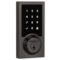 Kwikset SmartCode 916 Z-Wave Plus Contemporary Style Touchpad Deadbolt with Home Connect, Venetian Bronze