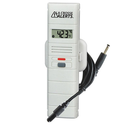 La Crosse Alerts Add-on Temperature & Humidity Sensor with Dry Probe