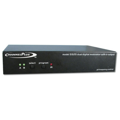 ChannelPlus Video Modulator with IR, 2-Channel