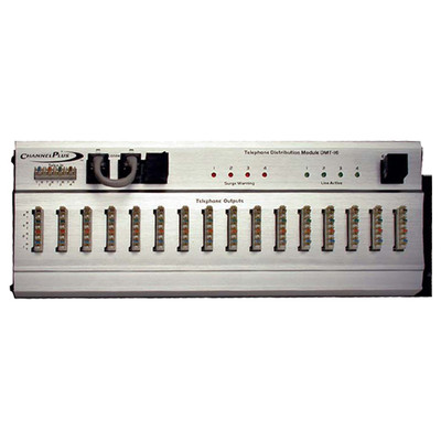 ChannelPlus Telephone Distribution Module with Surge Protection, 4x16