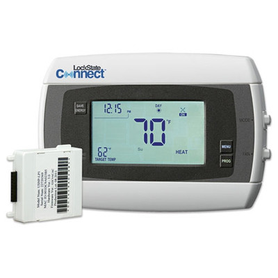 LockState Connect Wi-Fi Programmable Thermostat