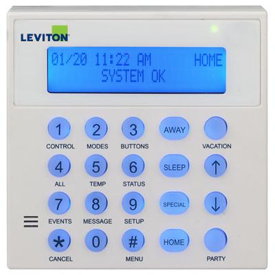 Leviton Lumina Lighting Console with Speaker/Microphone