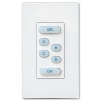Leviton UPB Scene Wall Switch, 6 Button