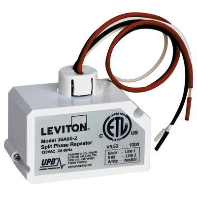 Leviton UPB Wired-In Split-Phase Repeater