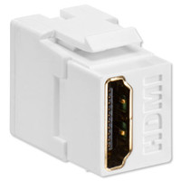 Leviton QuickPort HDMI Snap-In Connector, White