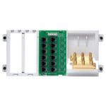 Leviton 4x12 Telephone Distribution Panel with Splitter