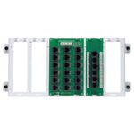 Leviton 4x18 Telephone Distribution Panel with Cat5e Board