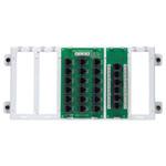 Leviton 4x18 Telephone Distribution Panel with Cat5e Board