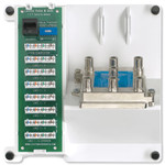 Leviton Telephone Security & 6-Way Video Panel, Compact Series