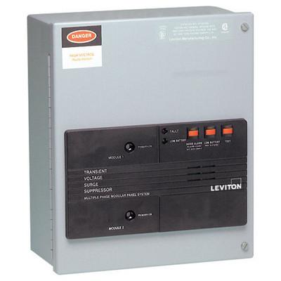 Leviton Surge Panel with Replaceable Surge Modules