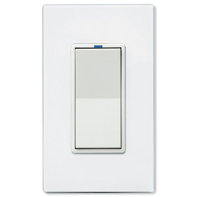 Leviton UPB Dimmer Wall Switch, 1,000W, White