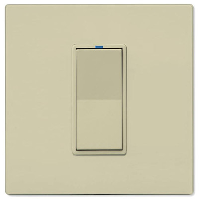 Leviton UPB Dimmer Wall Switch, 2,400W, Ivory