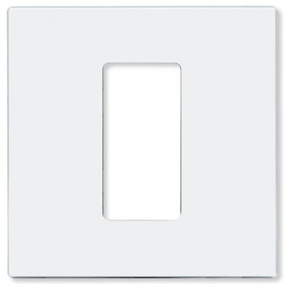 Leviton Wallplate for 2,400W UPB Dimmer Switch, White