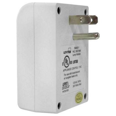 Leviton UPB Plug-In Dimmable Lamp Module, 300W