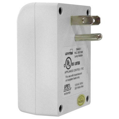 Leviton UPB Plug-In Dimmable Lamp Module, 300W
