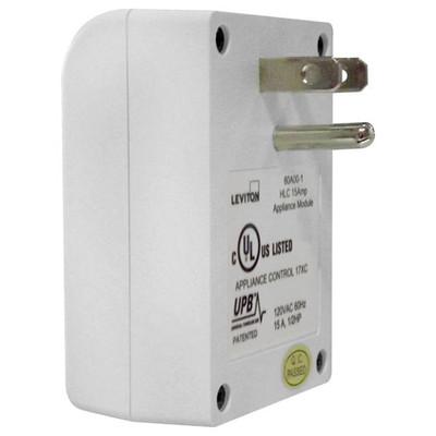 Leviton UPB Plug-In Appliance Module, 15A