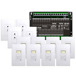 Leviton Hi-Fi 2 8 Zones, 8 Source Kit for Structured Wiring