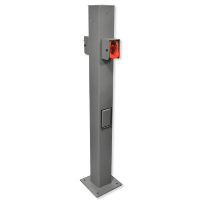 Leviton Evr-Green EVSE Pedestal Mounting Pole and Base