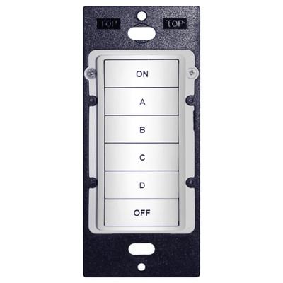 Leviton LVHLCK6x HLC Keypad Room Controller