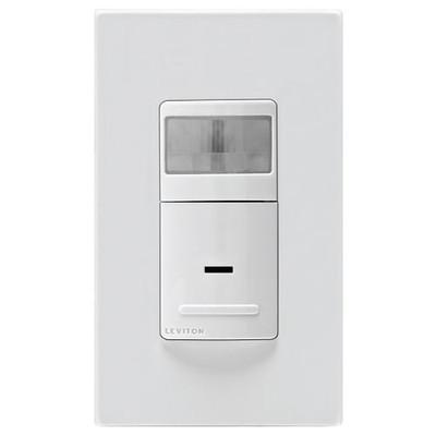 Leviton Universal Wall Switch Vacancy Sensor, 1800W, Manual On