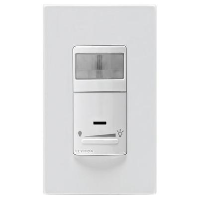 Leviton Universal Dimming Wall Switch Vacancy Sensor, 600W, Manual On