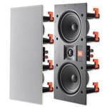 Leviton JBL Dual 5.25 In. Frameless In-Wall Center Channel Speaker