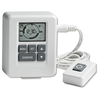 Leviton Advanced Digital Timer with Tethered Remote