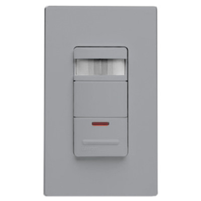 Leviton Wall Switch Occupancy Sensor with LED Nightlight, Gray