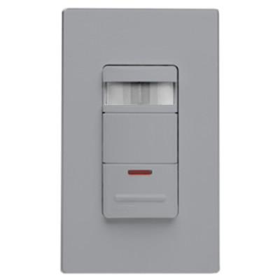 Leviton Wall Switch Occupancy Sensor with LED Nightlight, Gray