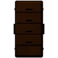 Leviton Vizia RF + Color Change Kit for VRCS4, Brown