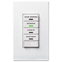 Leviton Vizia RF + 4-Button Remote Scene Controller