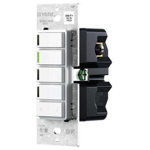 Leviton Vizia RF + Z-Wave 4-Button Zone Wall Controller